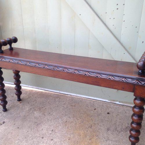 Victorian Bench.